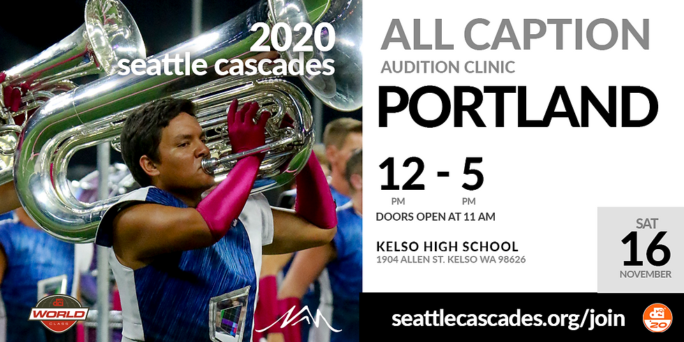 2020 All Caption Audition Clinic (Portland, OR Area)