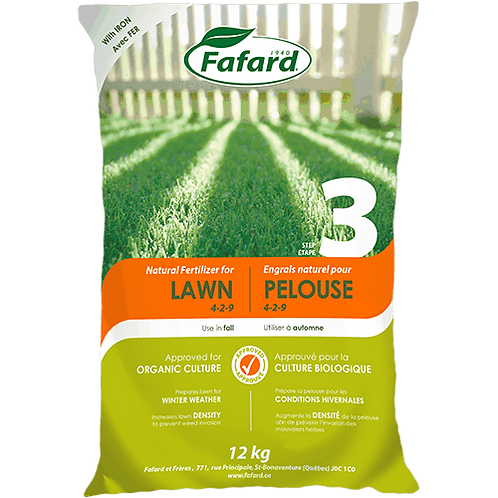 Natural Fertilizer for Lawn (Step 3/Fall)