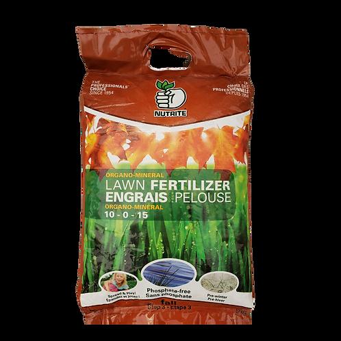 Nutrite Lawn Fertilizer - Fall