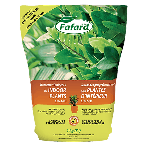 Fafard Connaisseur® Potting Soil for INDOOR PLANTS