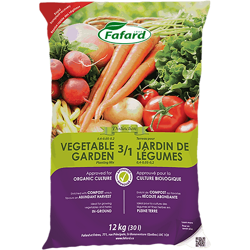 Fafard 3/1 Vegetable Garden Planting Mix