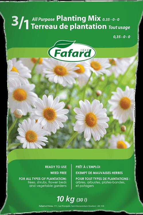 Fafard 3/1 All purpose Planting Mix