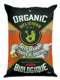 Organic Delicious Dirt - Sheep Manure