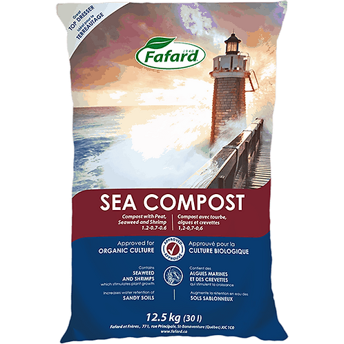 SEA COMPOST with Peat, Seaweed and Shrimp