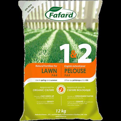 Natural Fertilizer for Lawn Step (1&2/Spring-Summer)
