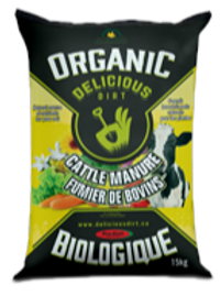 Organic Delicious Dirt - Cattle Manure