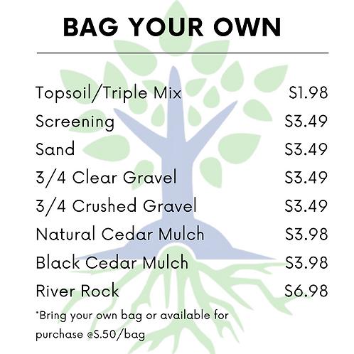 Bag Your Own Bulk Material