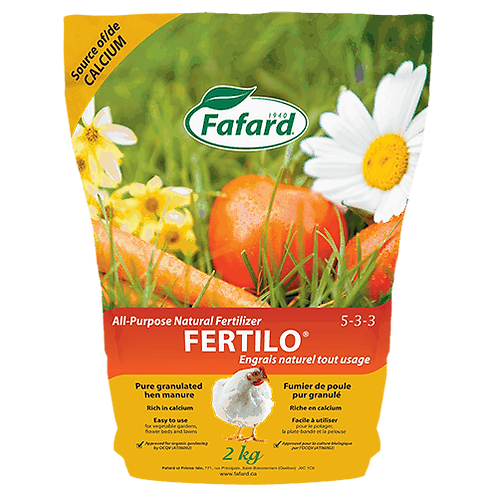 Fafard FERTILO® All-Purpose Natural Fertilizer
