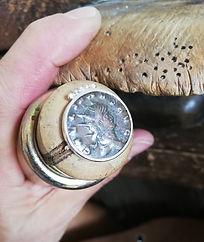 Bague pièce de monnaie antique- DELICATA