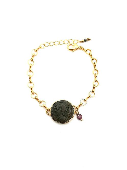 Bracelet Buste casqué de Rome
