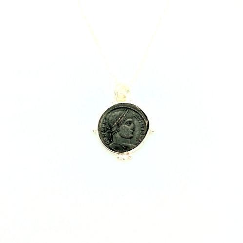 """Collier Constantin Ier """"Granules argent"""""""
