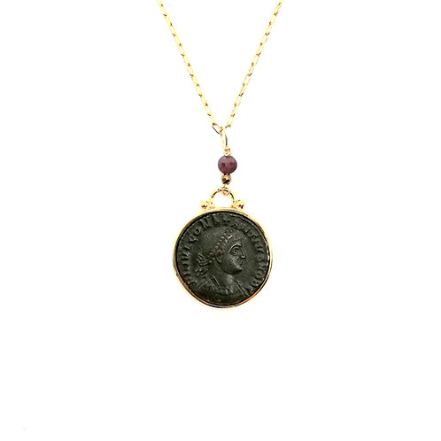 Collier Constance II - rubis brut