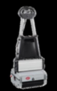 Lux Uniprof Bodenreinigungsmaschine, Fliessenreinigungsmaschine, Reinigung Aussenterassen, Maschine für Ladenfläche reinigen, Teppichnassreiniger, Batterie