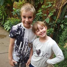 My children Alife & Amelia