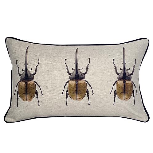 Cojín con Escarabajo hércules (Chico)