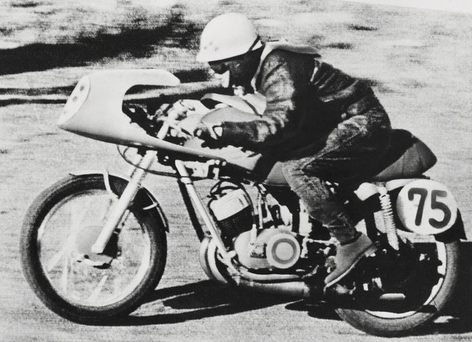 The unique identity of this YD-A Asama Racer