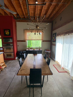 The Resin Table Dining Room