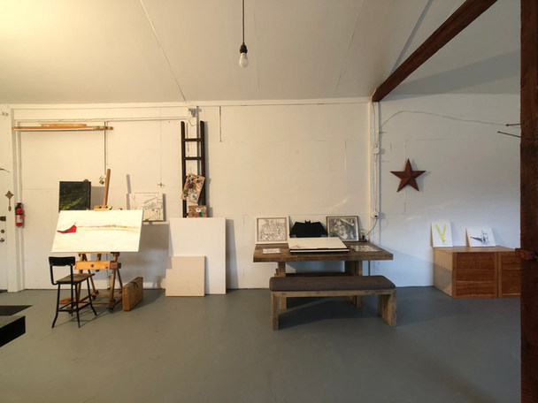 Painter's Easel & Drawing Board