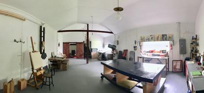 The Full Working Studio