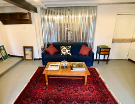 Studio Apt Living room.