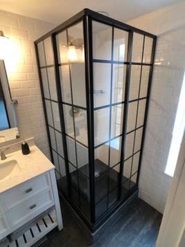 Vintage Shower Stall
