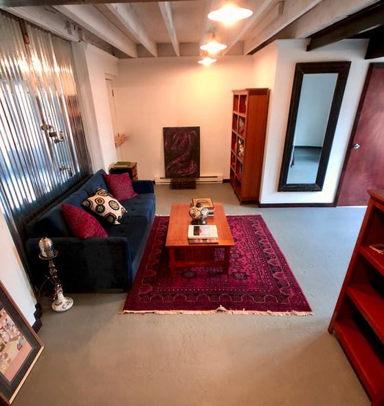 Studio Apt Living room