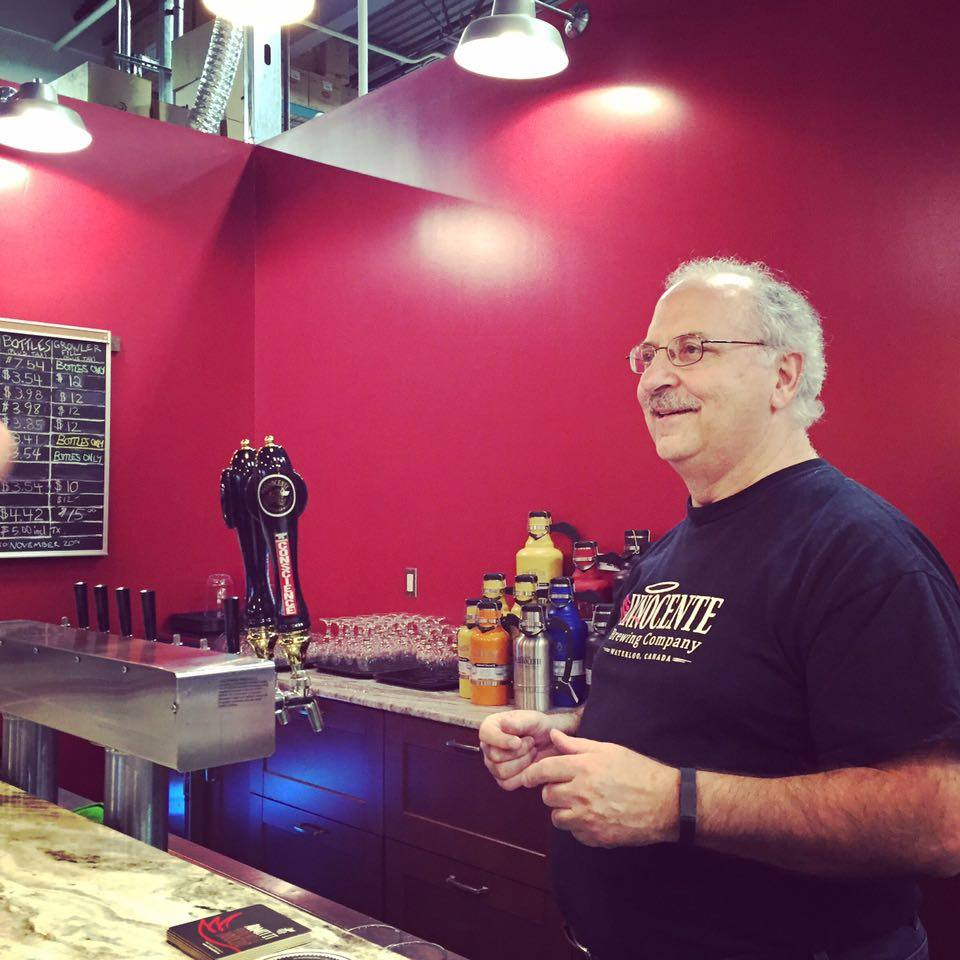 Angelo from Innocente Brewing