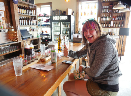 That time I drank Cider and enjoyed some! Citizen Cider in Burlington, VT