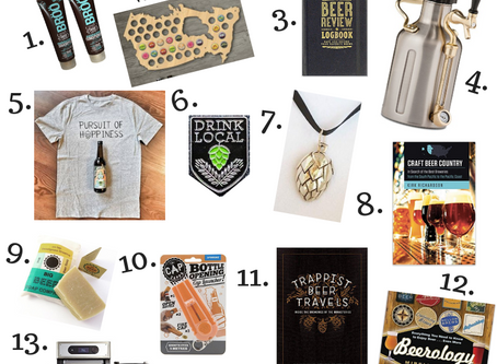 Holiday Gift Guide for Craft Beer Lovers