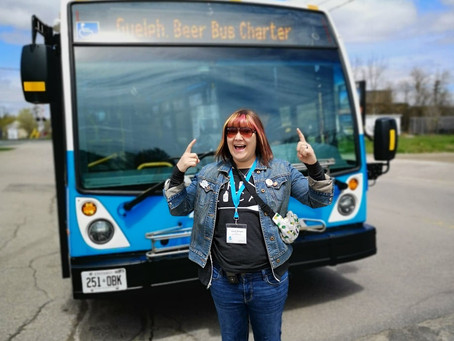 A new way to explore Guelph's Beer scene | Guelph.Beer Bus