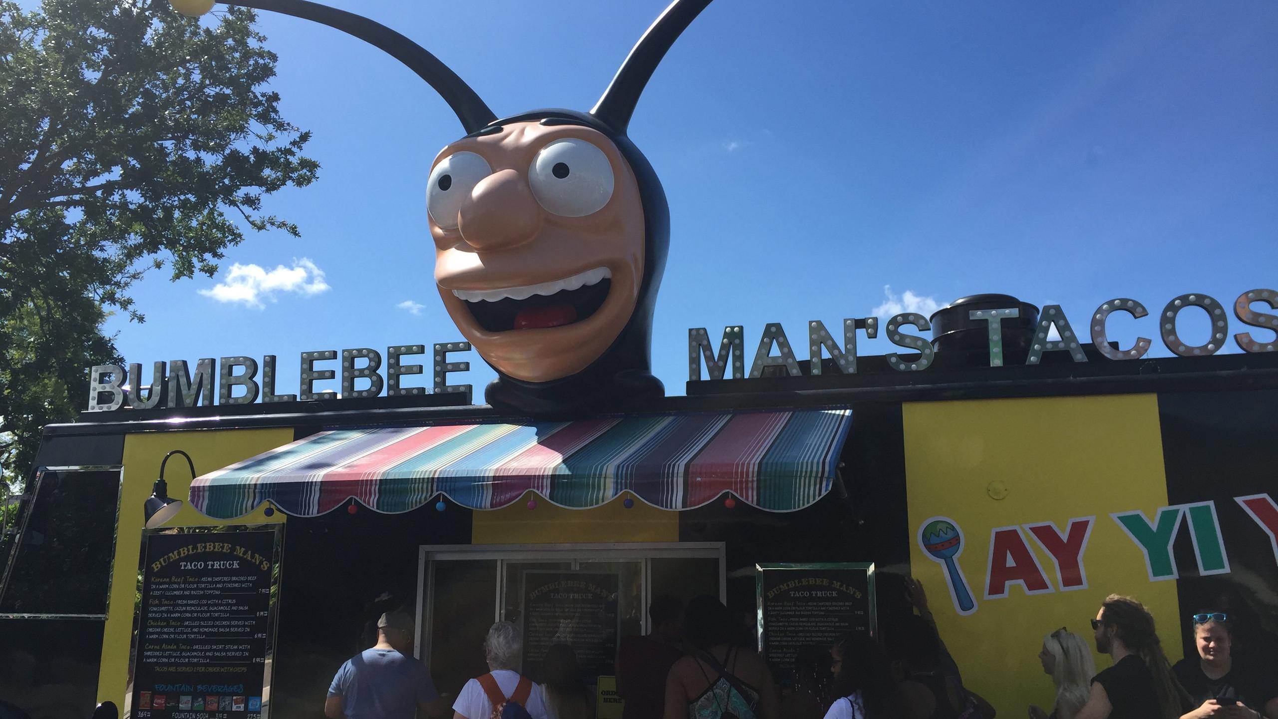 Bumble Bee Man Taco's