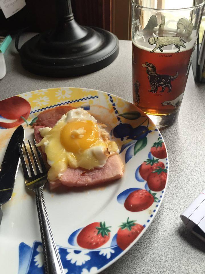 Steak n' Eggs n' Beer!