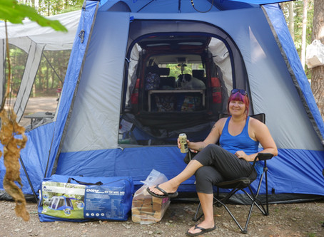 Napier Outdoors SUV Tent Review!