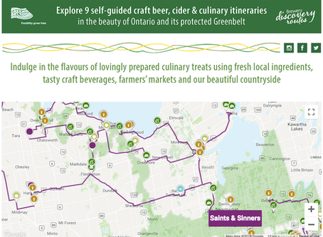 Brewery Discovery Routes- A great way to discover what Ontario has to offer!