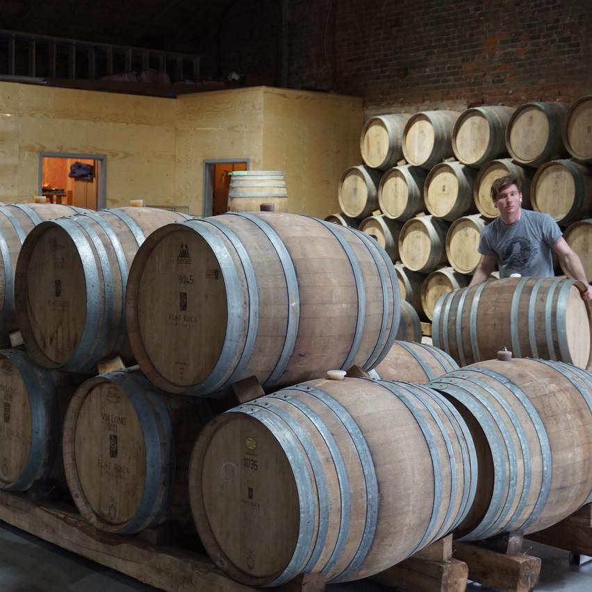 Beauty Pinot Barrels