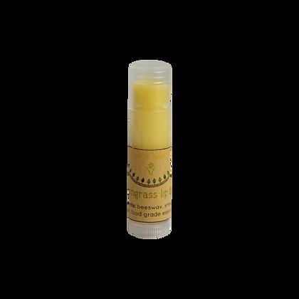 natural lemongrass lip balm