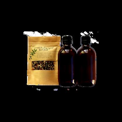 immune boosting oxymel - kit