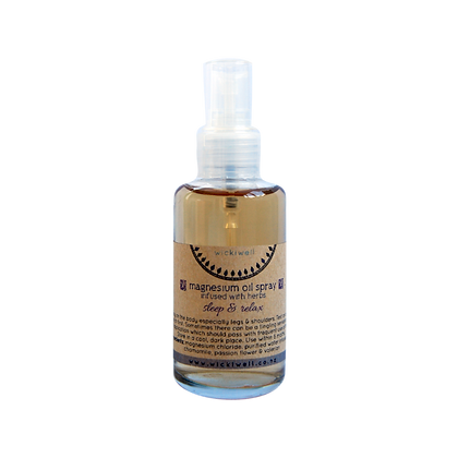 magnesium oil spray infused with herbs - 100ml
