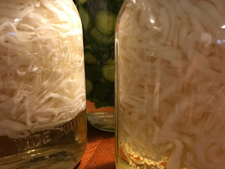 Dehydrated & Pickled Daikon