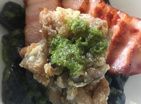Purple Sweet Potato & Tapioca Dumpling