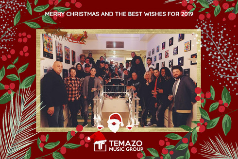 THE MERRY CHRISTMAS DINNER AT TEMAZO