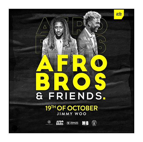 """""""Afro Bros & Friends for the first time at ADE"""""""