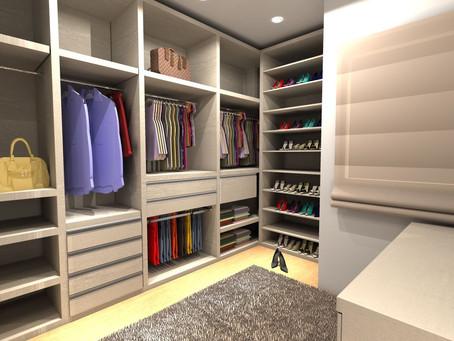 Tudo que você precisa saber para ter um closet planejado perfeito