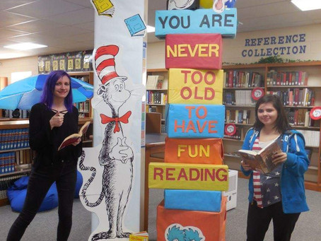 Celebrating March Reading Month and Read Across America Day