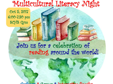 SCHS Gears up for Multicultural Literacy Night