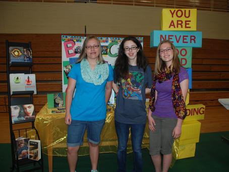 Book Club Participates in Focus on Your Future Day