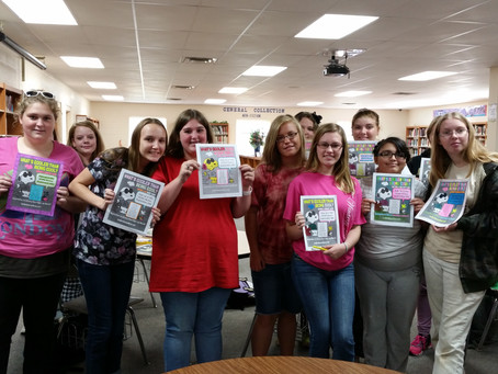 Book Club Promotes National Library Card Month