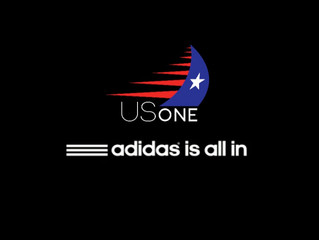 ADIDAS Sailing Sign with US One Sailing Team.