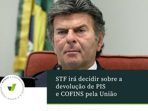 STF irá decidir sobre a devolução de PIS e Cofins pela União