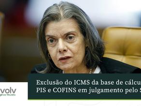 Exclusão do ICMS da base de cálculo de PIS E COFINS em julgamento pelo STF